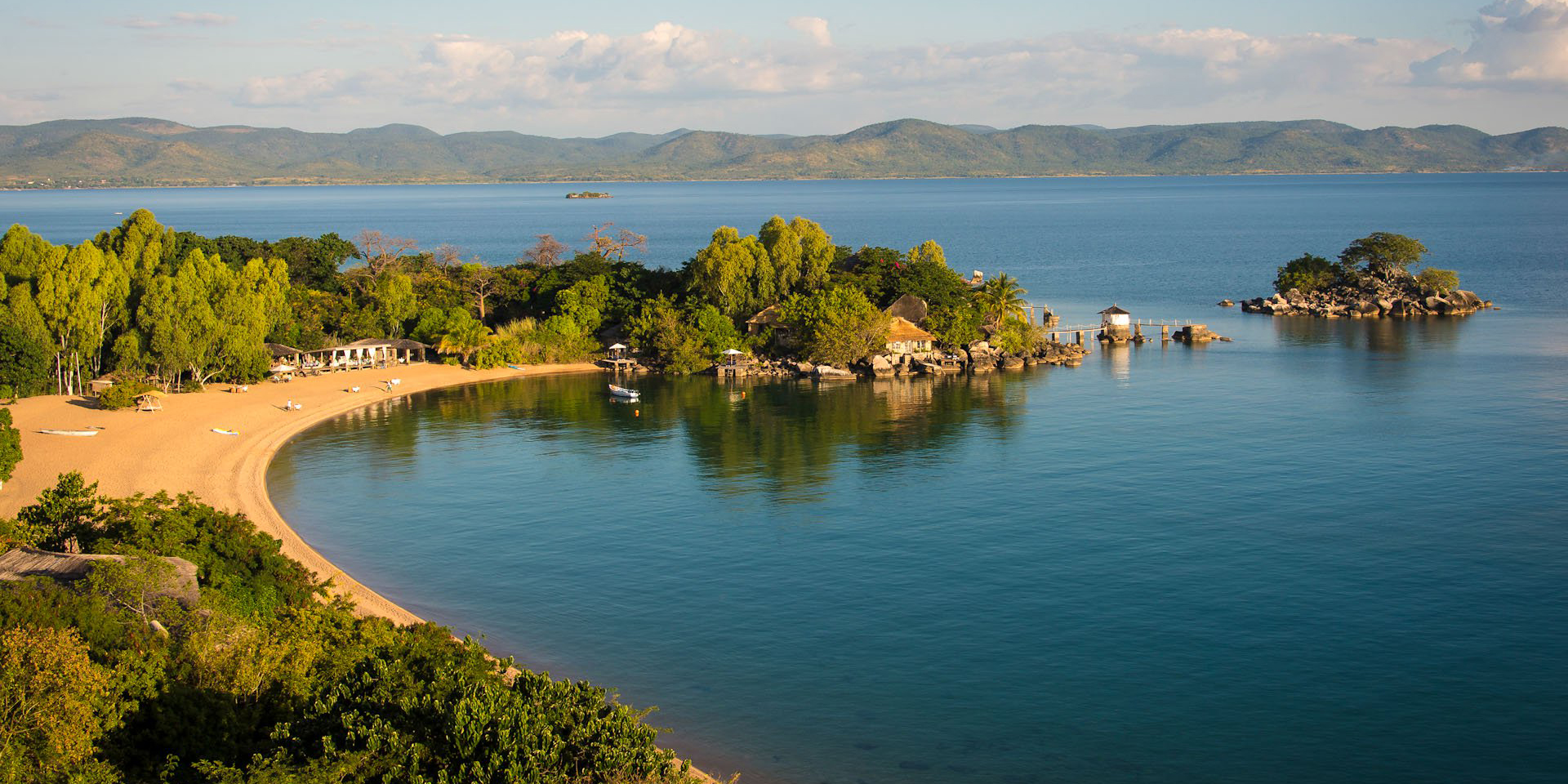 Part of the View of Lake Malawi